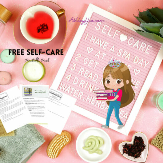 Free Positivity and Self Care Printables