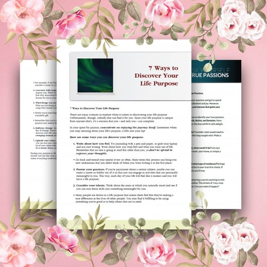 Big Escape Free Yourself Discover Your Life Purpose Readings and Journal Prompts Printable Bundle