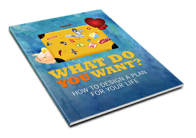 Big Lovely Life Designer - What Do You Want? How To Design A Plan For Your Life Guide Mockup 2