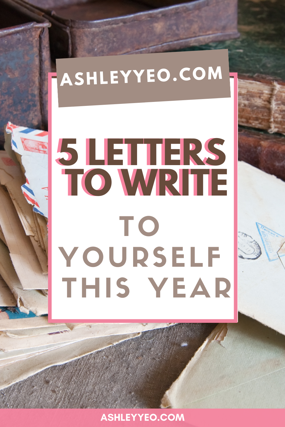 Dear Diary: 5 Letters to Write to Yourself This Year