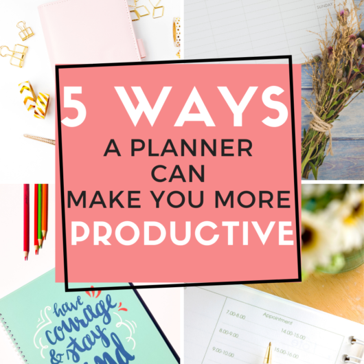 Workplace Productivity Unlocked: Five Ways a Planner Can Make You More Productive