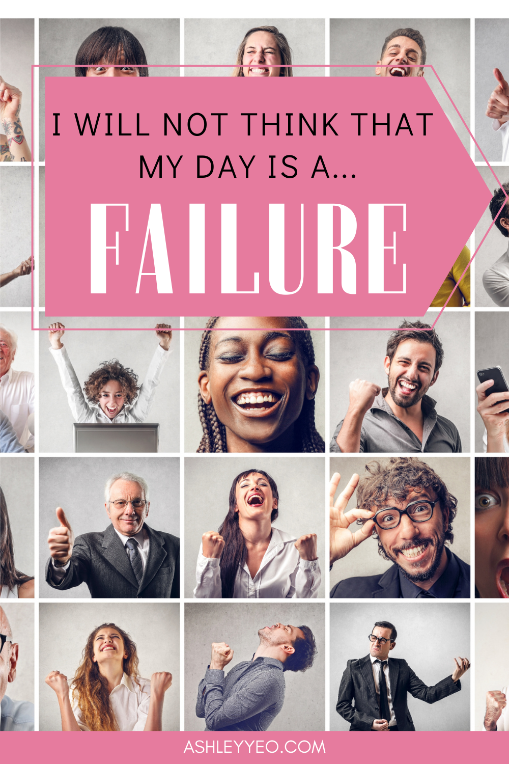 I Will Not Think That My Day Is A Failure