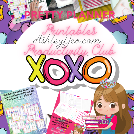 Planner Printables - Pretty Planner Productivity Club