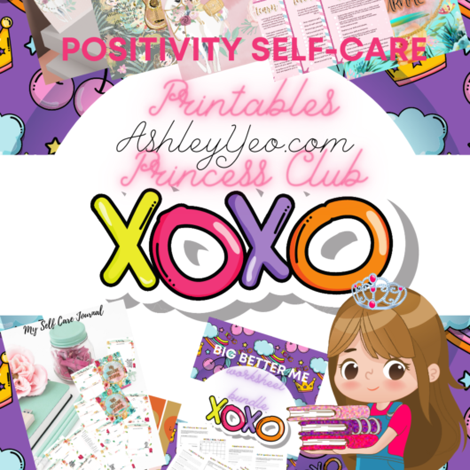 Positivity Self-Care Club Mockup