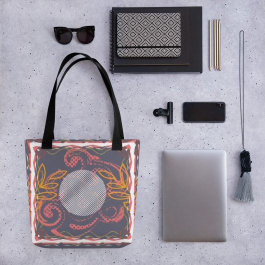 Abstract Pattern 6 All-Over Print Tote Bag