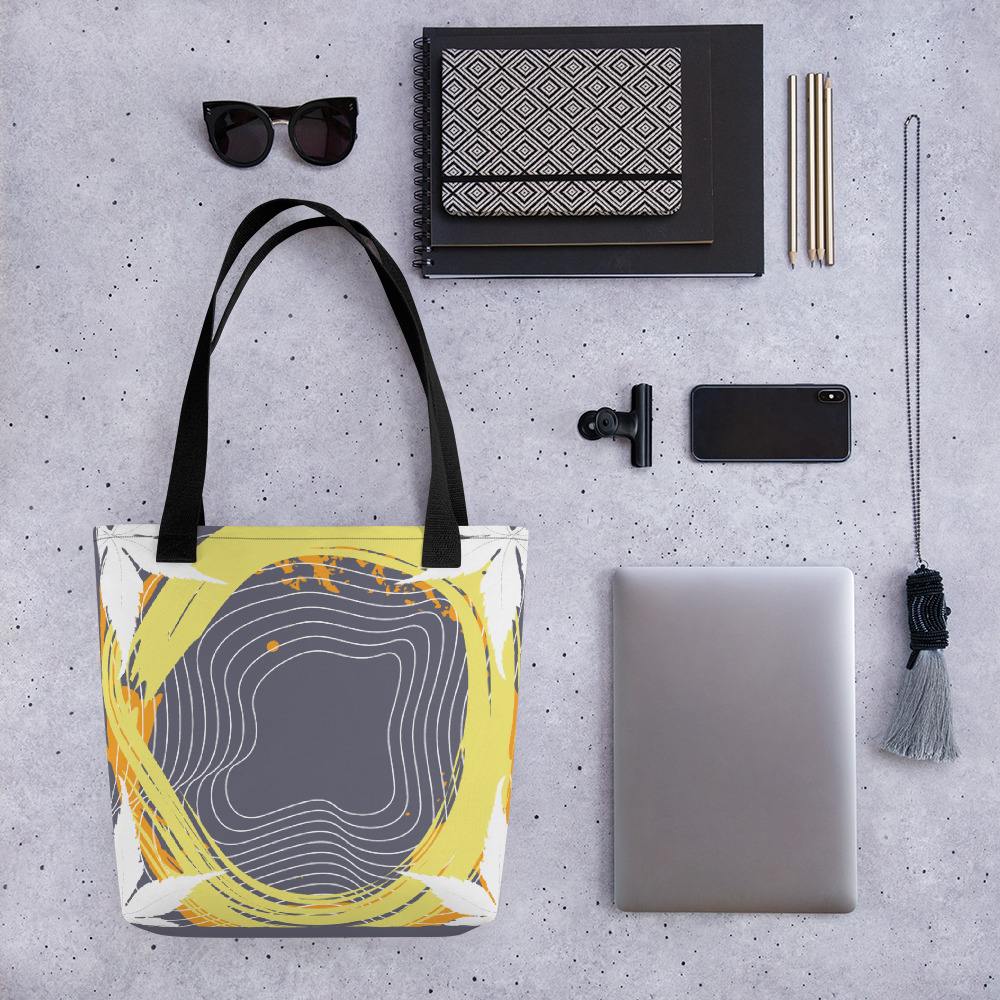 Abstract Pattern 7 All-Over Print Tote Bag