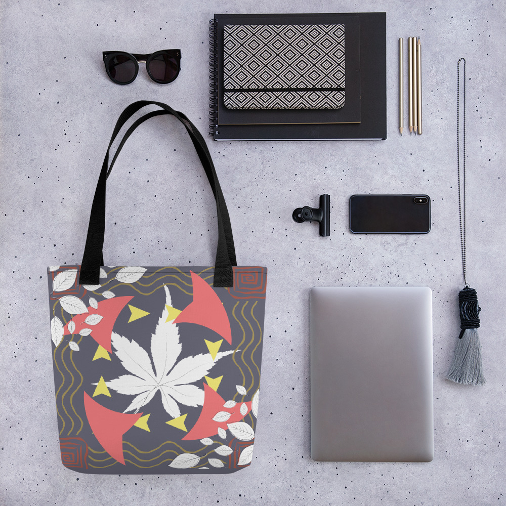 Abstract Pattern 8 All-Over Print Tote Bag
