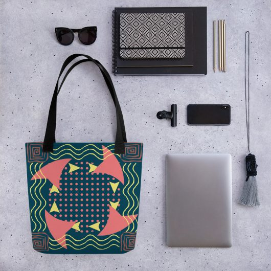 Abstract Pattern 10 All-Over Print Tote Bag