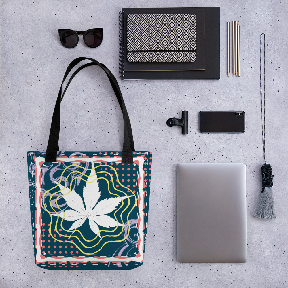 Abstract Pattern 11 All-Over Print Tote Bag