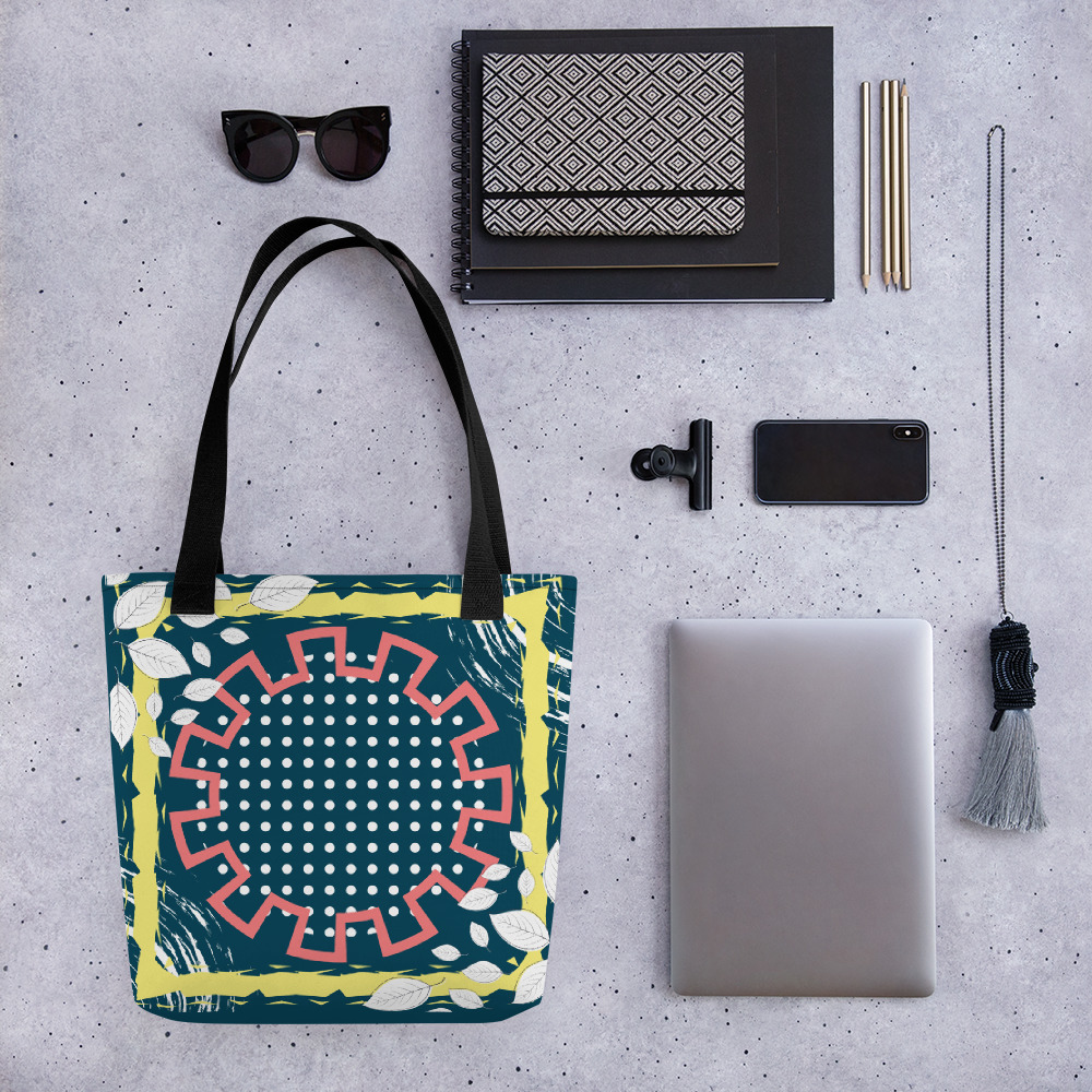 Abstract Pattern 12 All-Over Print Tote Bag