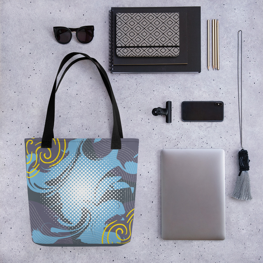 Abstract Pattern 14 All-Over Print Tote Bag