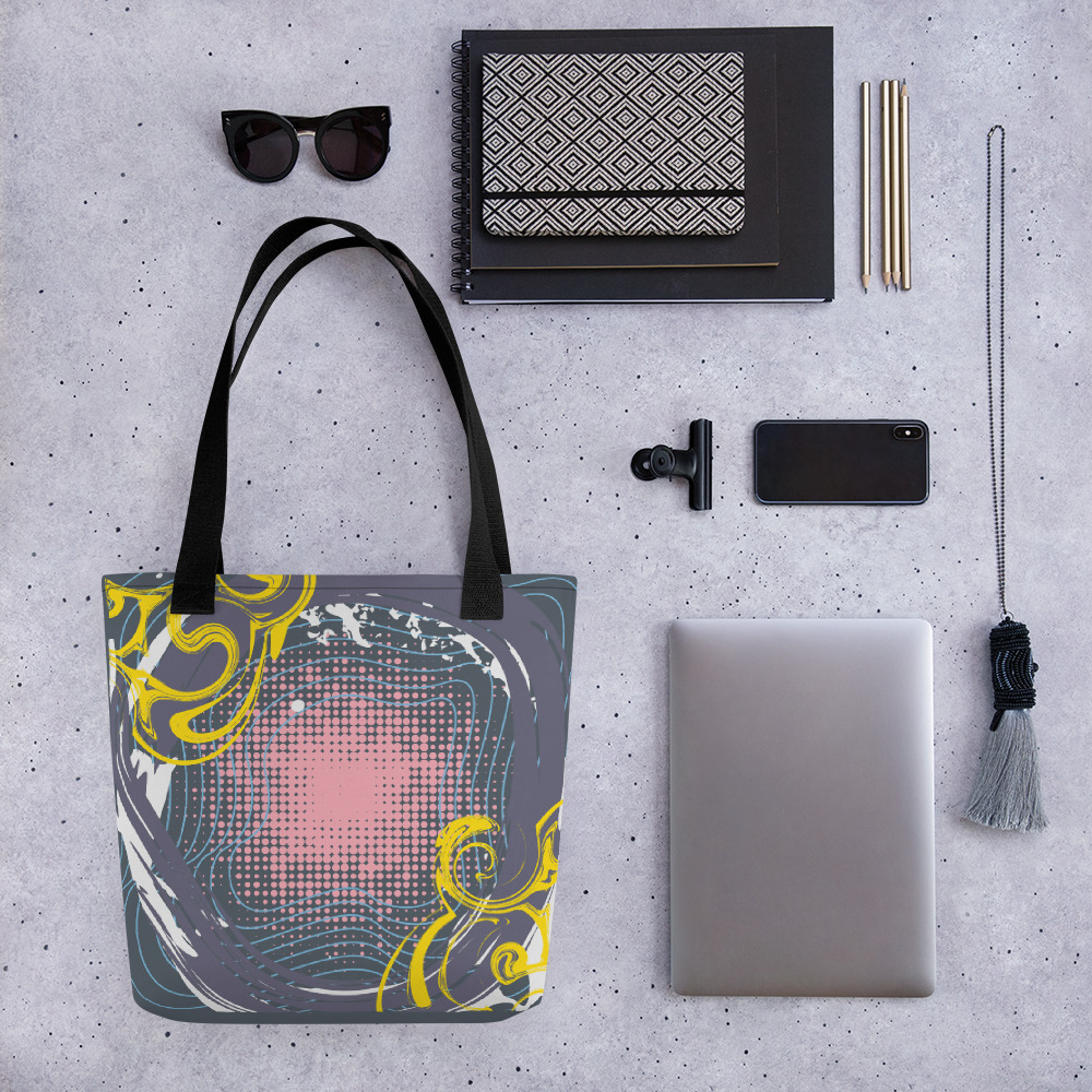 Abstract Pattern 15 All-Over Print Tote Bag