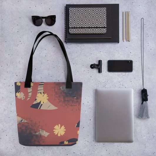 Abstract Pattern 17 All-Over Print Tote Bag