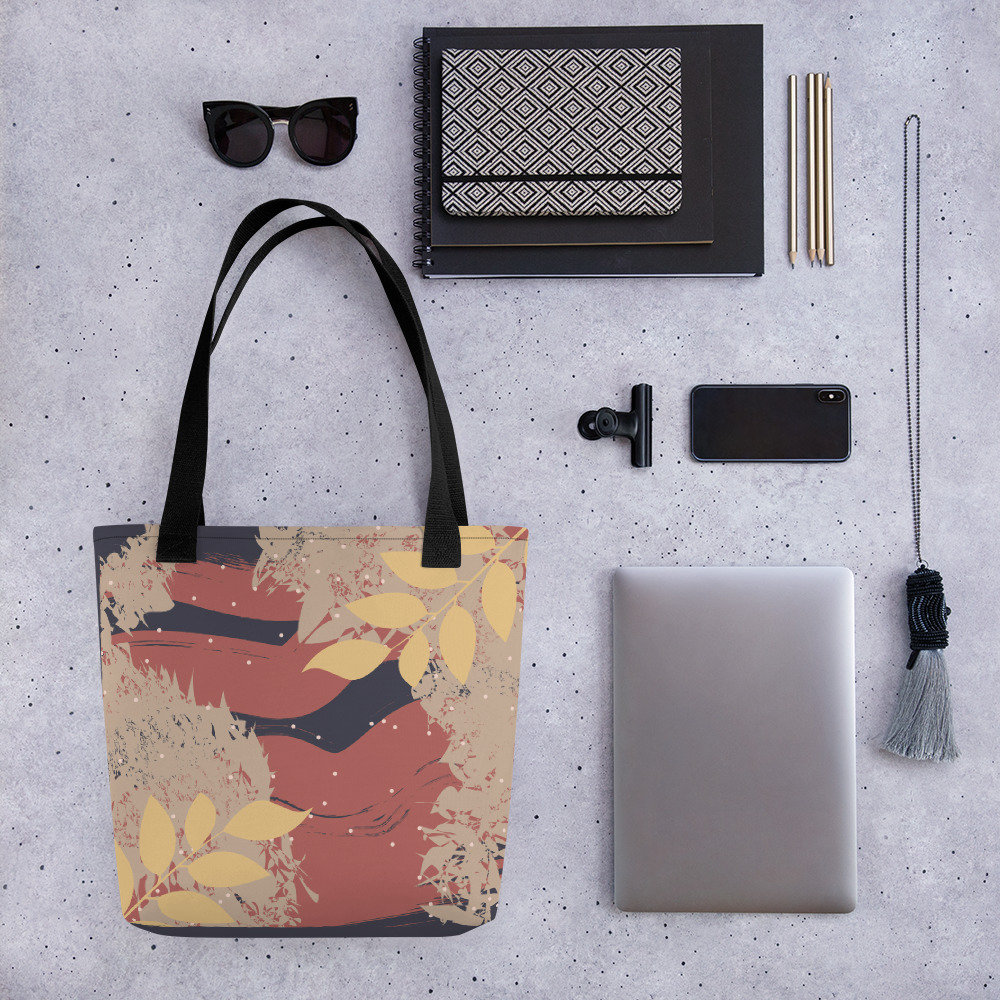Abstract Pattern 18 All-Over Print Tote Bag