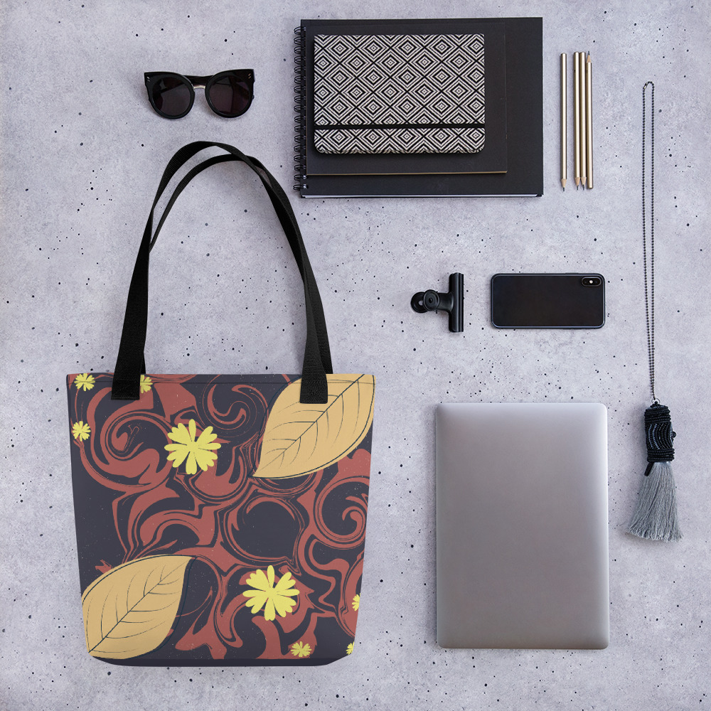 Abstract Pattern 19 All-Over Print Tote Bag