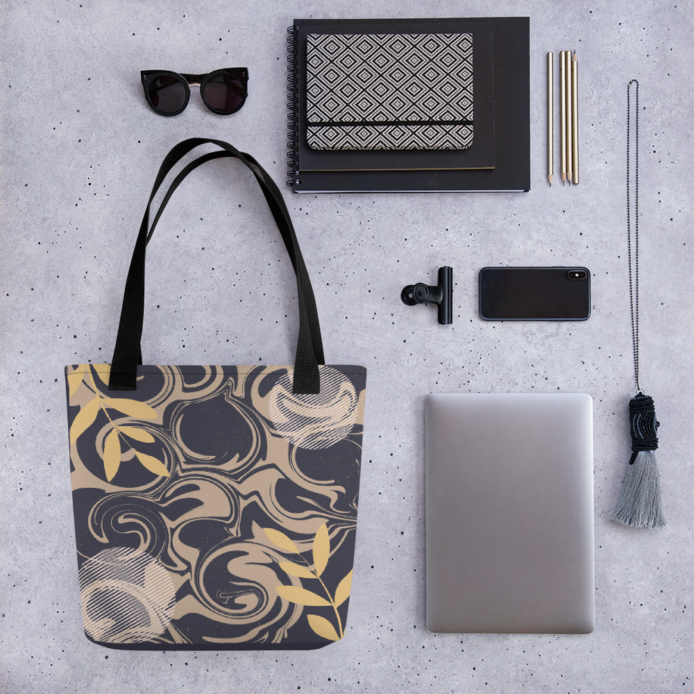 Abstract Pattern 20 All-Over Print Tote Bag