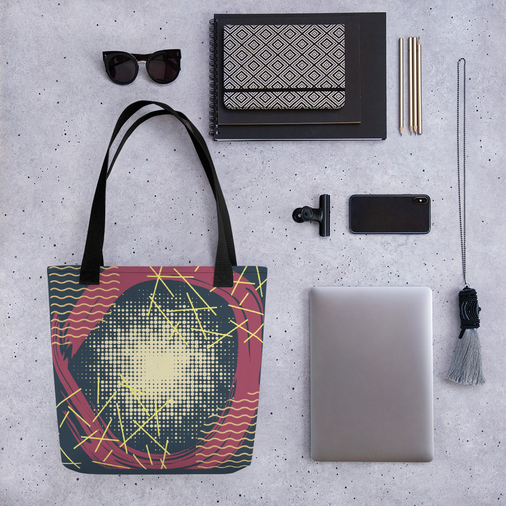 Abstract Pattern 21 All-Over Print Tote Bag