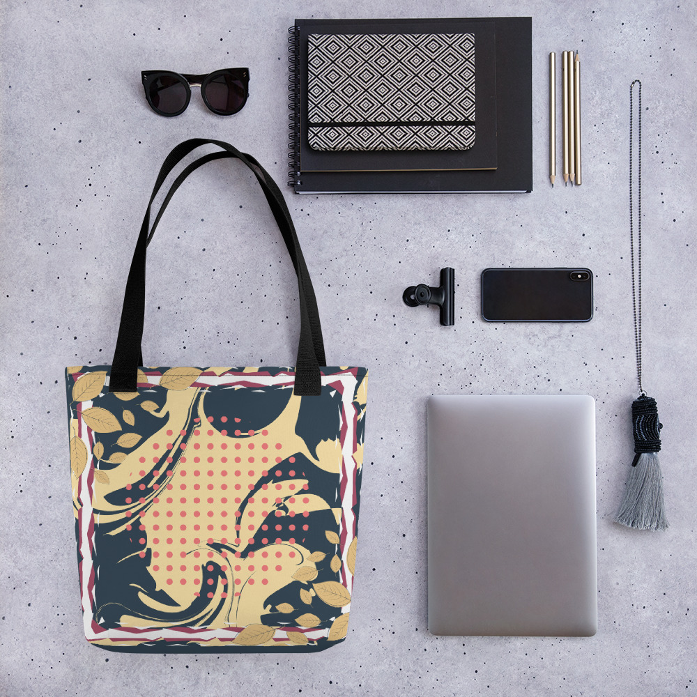 Abstract Pattern 22 All-Over Print Tote Bag