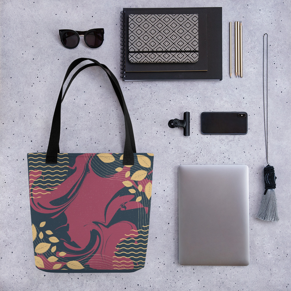 Abstract Pattern 23 All-Over Print Tote Bag