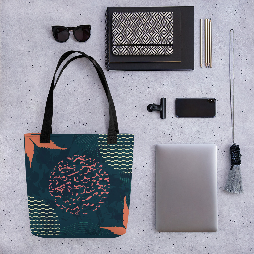 Abstract Pattern 25 All-Over Print Tote Bag