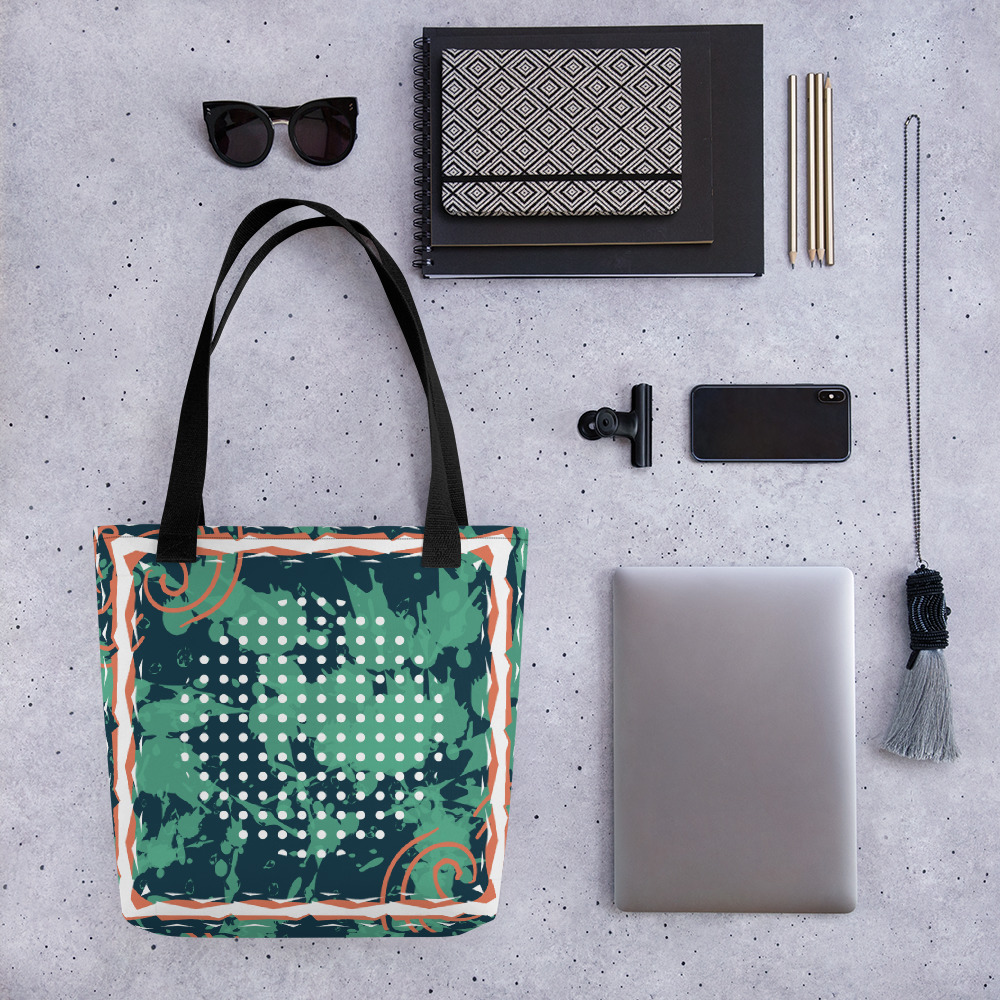Abstract Pattern 26 All-Over Print Tote Bag