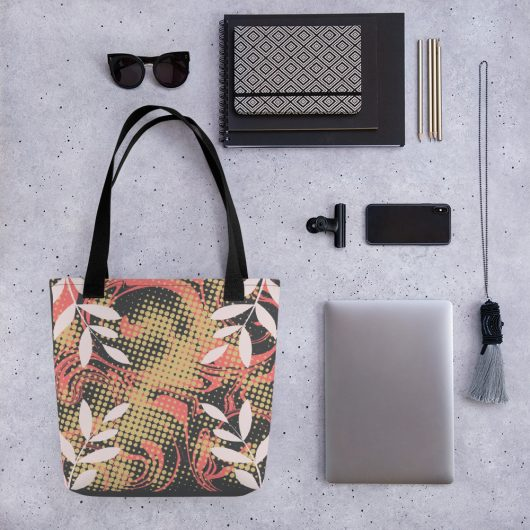 Abstract Pattern 27 All-Over Print Tote Bag