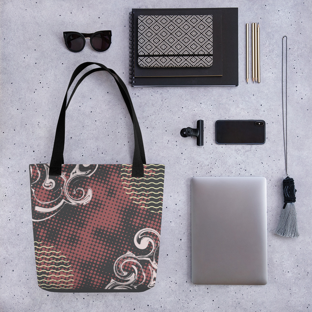 Abstract Pattern 28 All-Over Print Tote Bag