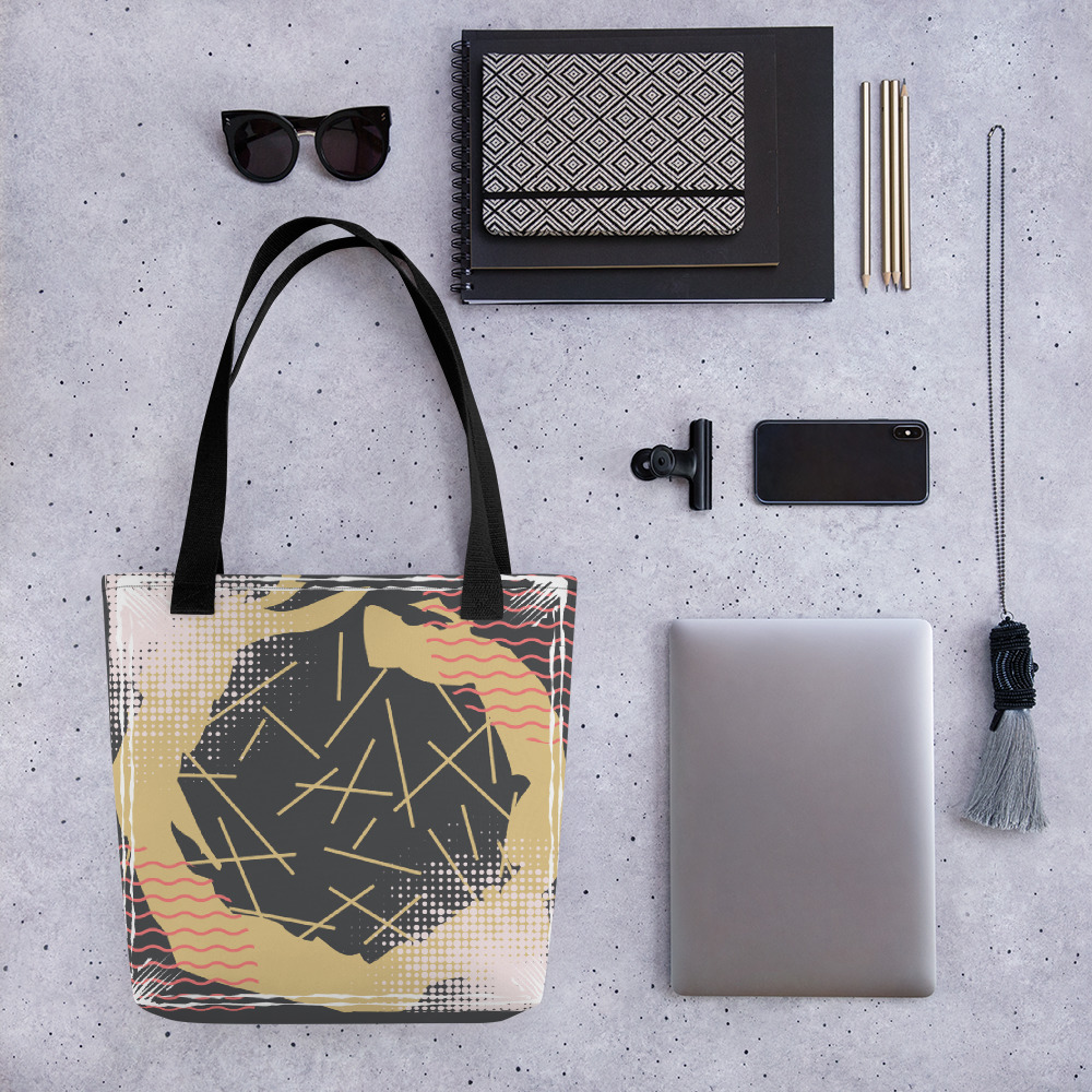 Abstract Pattern 29 All-Over Print Tote Bag