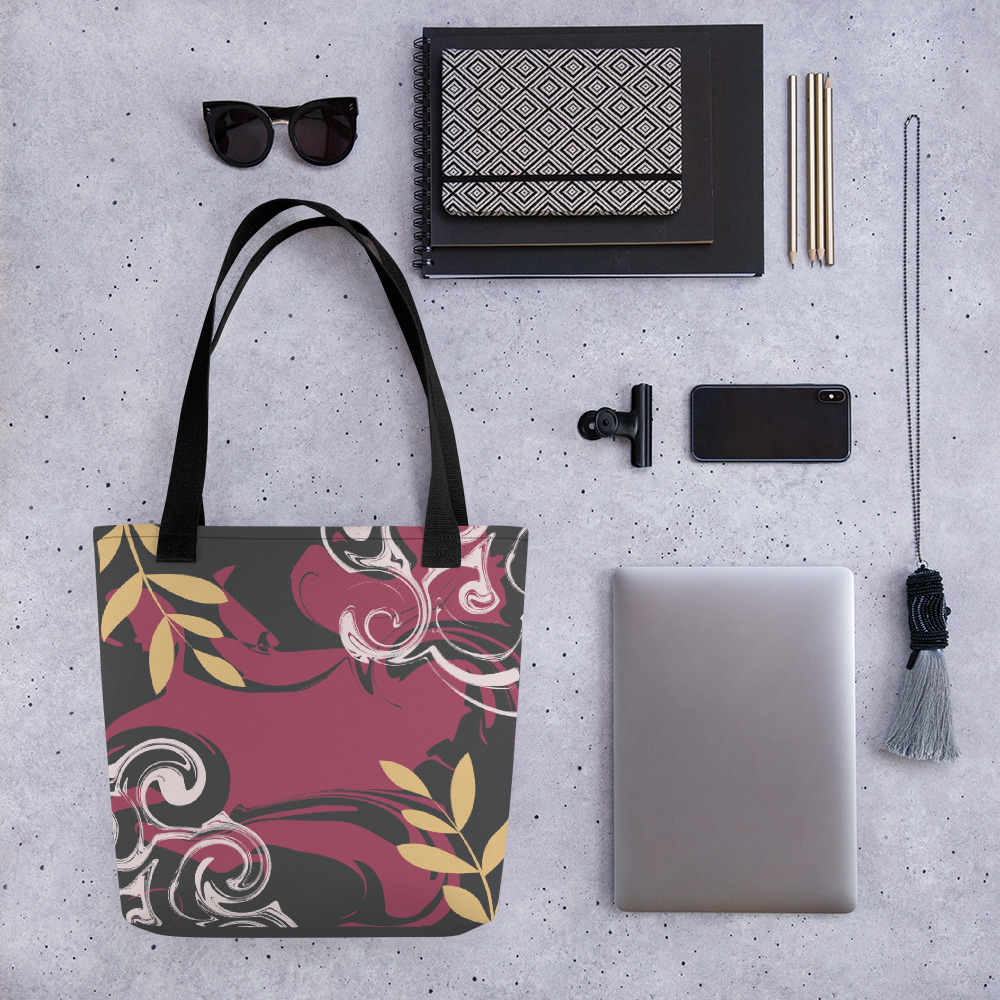 Abstract Pattern 32 All-Over Print Tote Bag