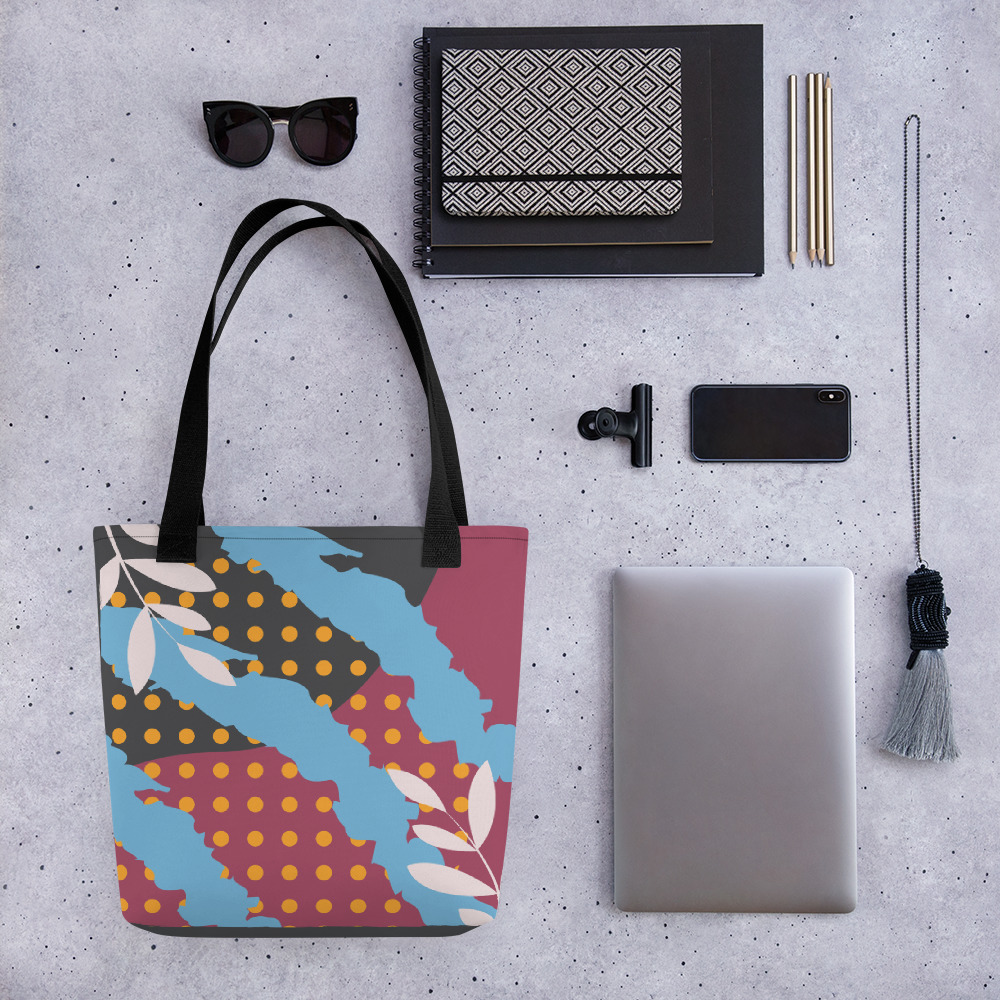 Abstract Pattern 33 All-Over Print Tote Bag