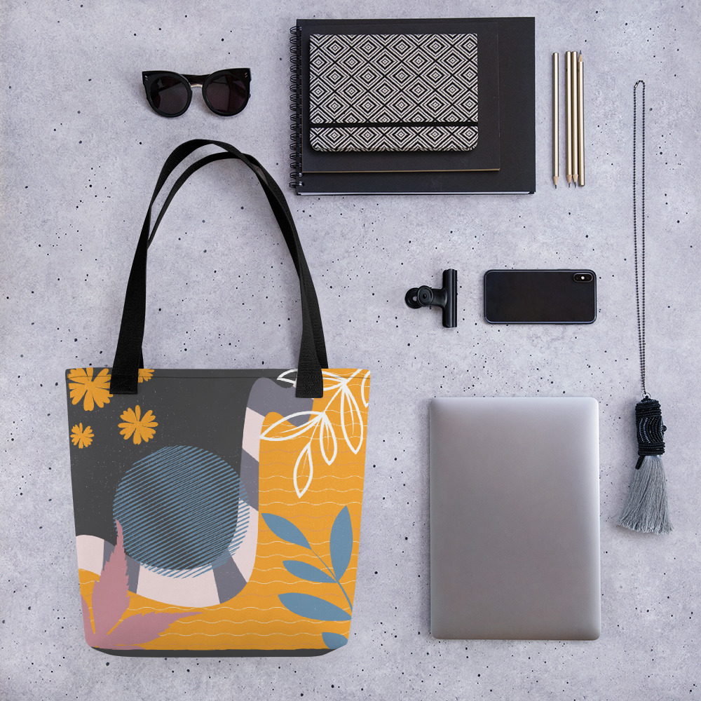 Abstract Pattern 34 All-Over Print Tote Bag