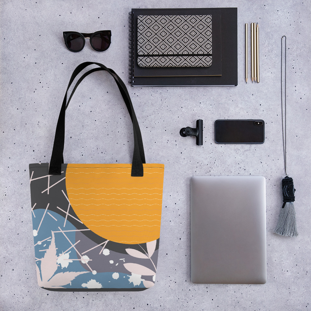 Abstract Pattern 35 All-Over Print Tote Bag