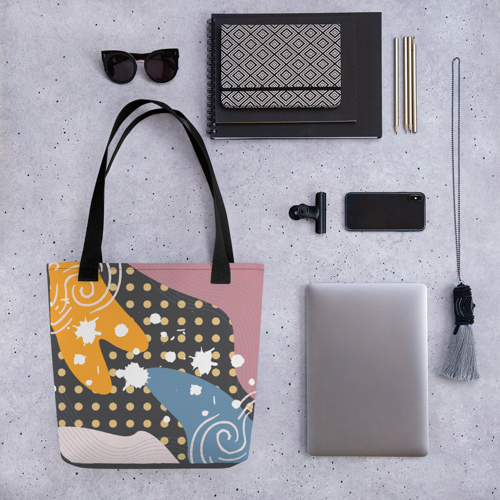 Abstract Pattern 36 All-Over Print Tote Bag