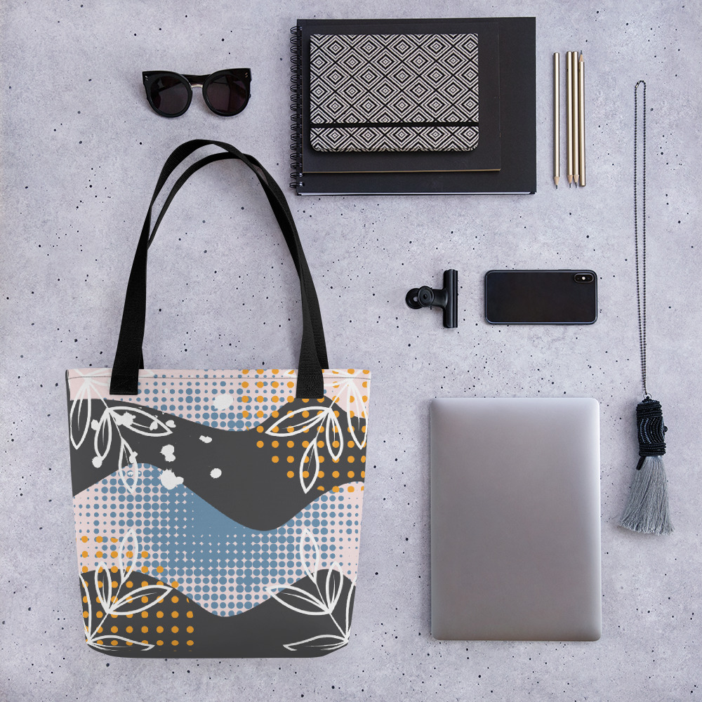 Abstract Pattern 37 All-Over Print Tote Bag