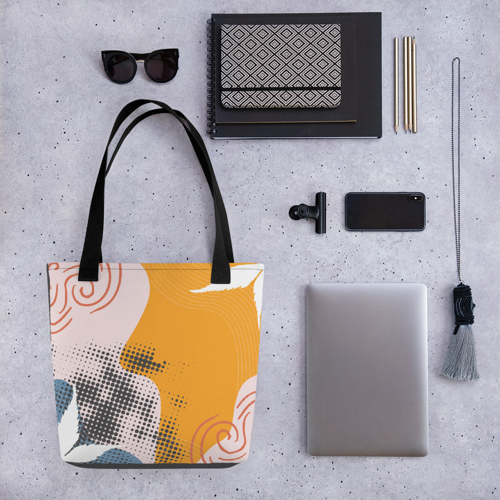 Abstract Pattern 38 All-Over Print Tote Bag
