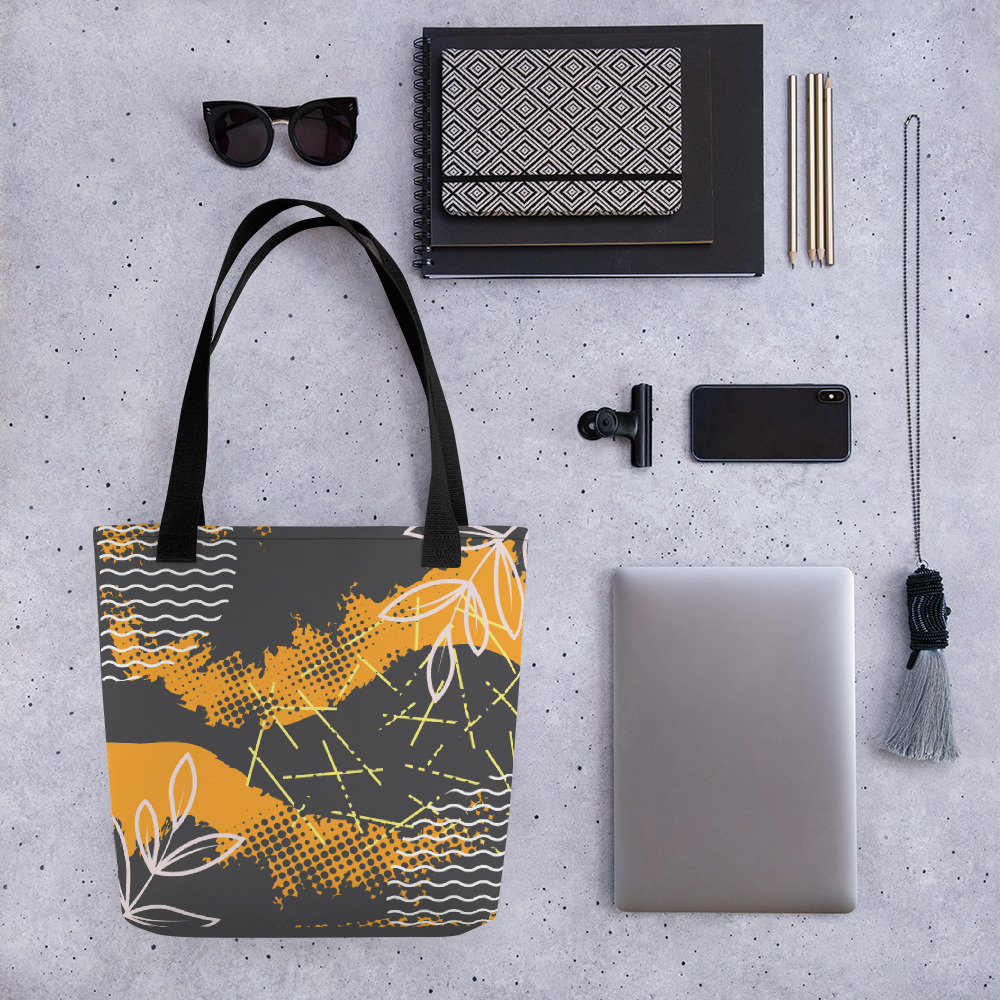 Abstract Pattern 39 All-Over Print Tote Bag