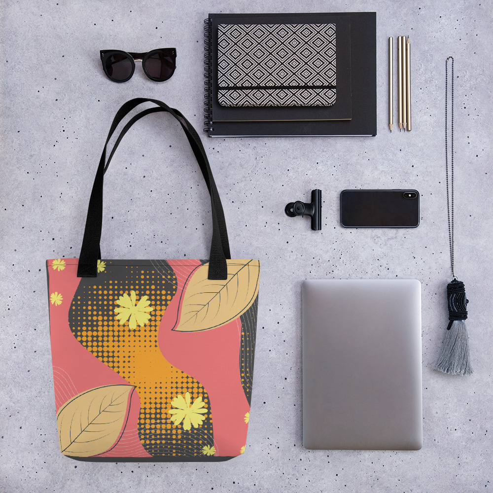 Abstract Pattern 40 All-Over Print Tote Bag