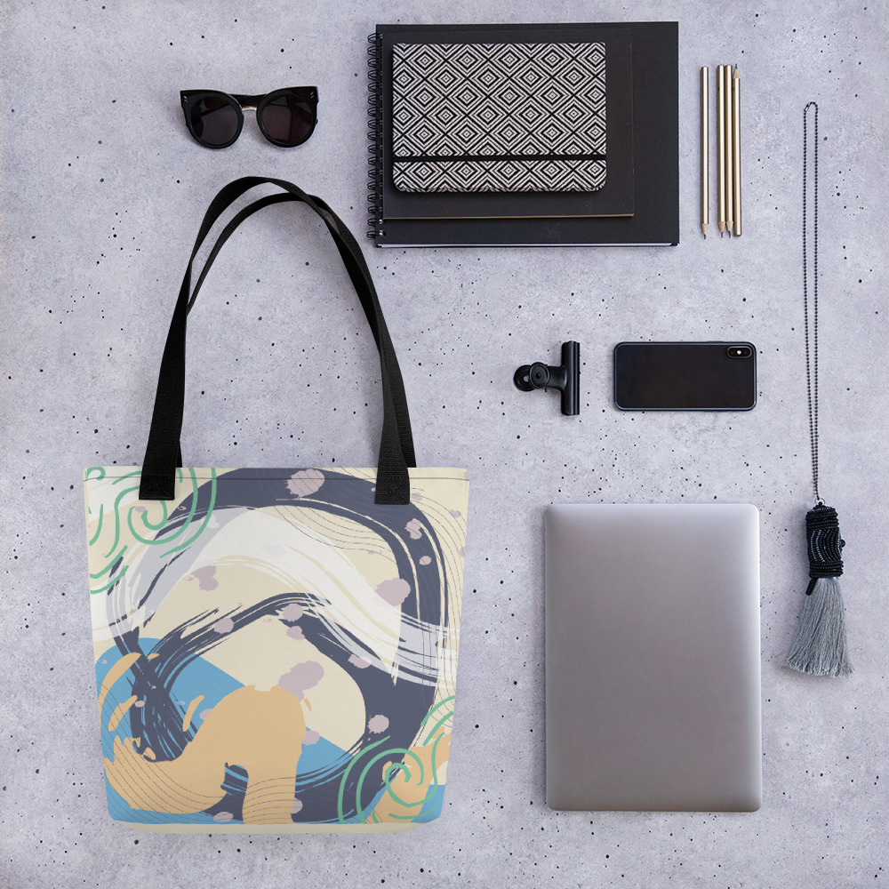Abstract Pattern 42 All-Over Print Tote Bag
