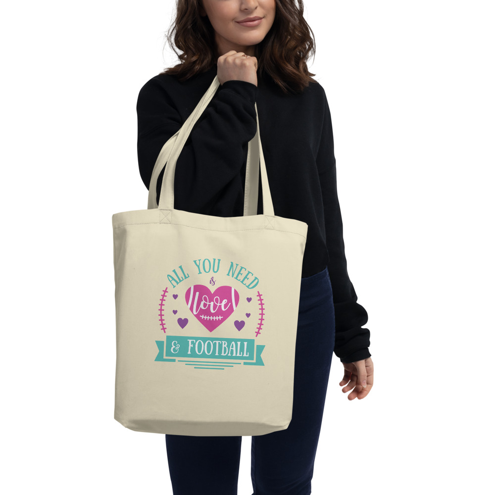 All You Need Is Love And Football Eco Tote Bag