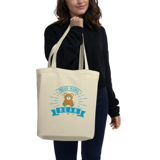 Proud Mama Bear Eco Tote Bag