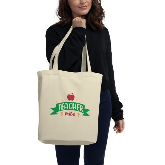 Teacher Tribe Design 2 Eco Tote Bag