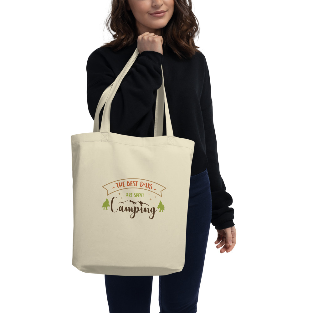 The Best Days Are Spent Camping Eco Tote Bag