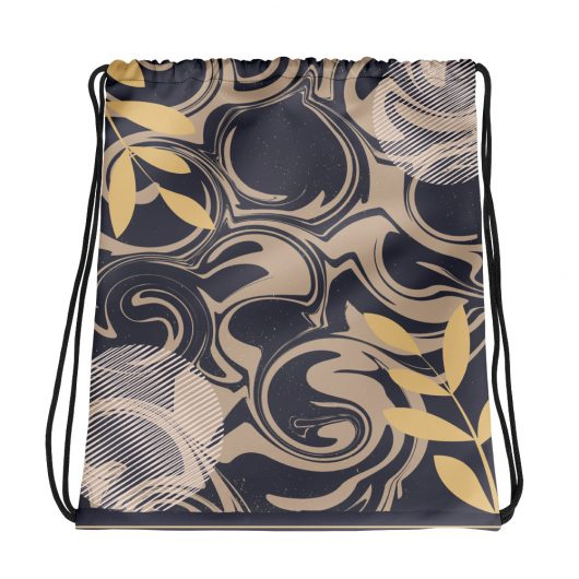 Abstract Pattern 17 All-Over Print Drawstring Bag