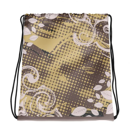 Abstract Pattern 27 All-Over Print Drawstring Bag