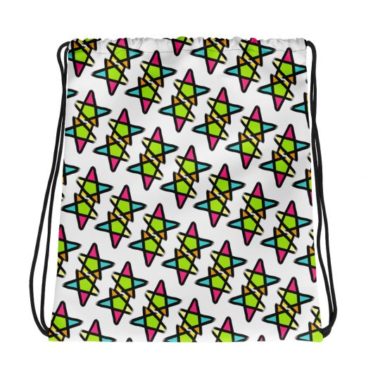 Star Crossed Lovers All-Over Print Drawstring Bag