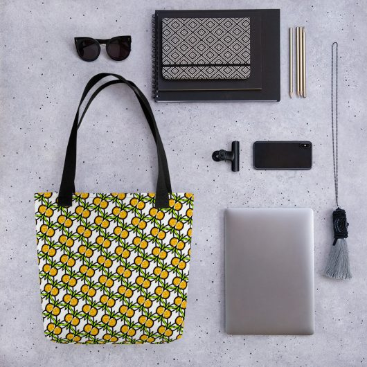 Is This Pineapple All-Over Print Tote Bag