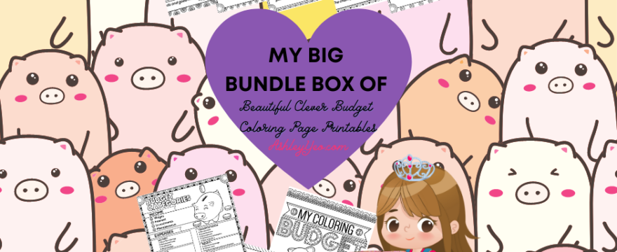 My Big Bundle Box Of Beautiful Clever Budget Coloring Page Printables Is Out!