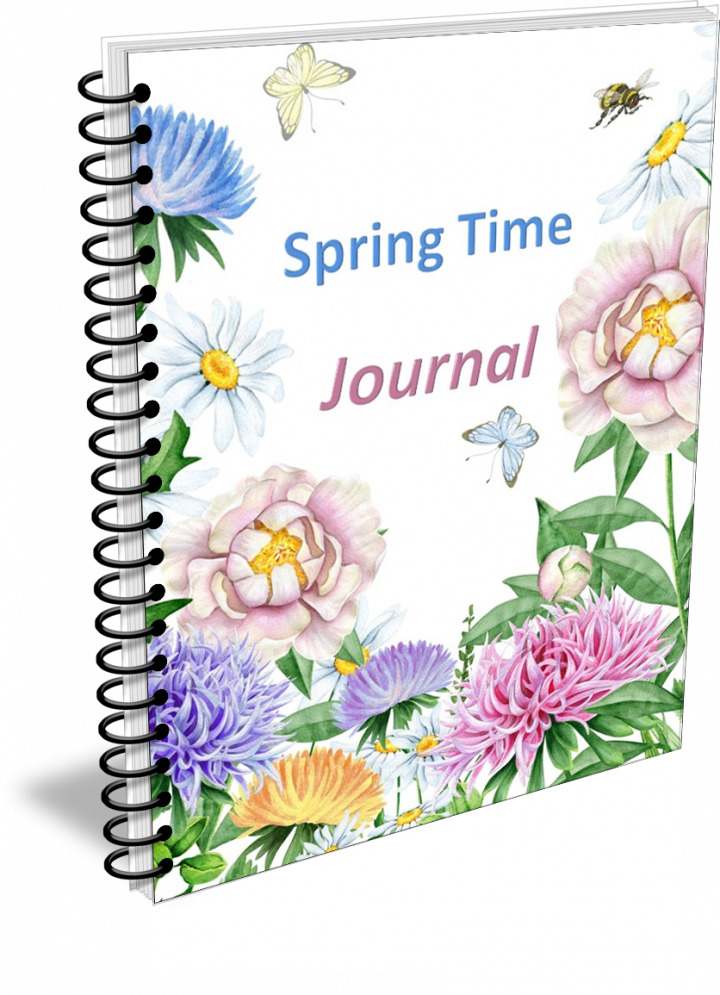 Pretty Spring Journal Printable Pages