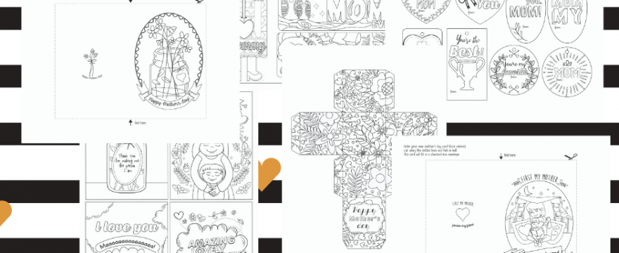 Mother's Day Coloring Craft Kit Is Out!