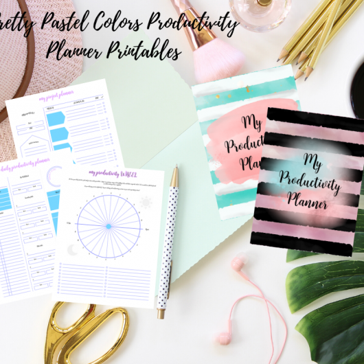 Pretty Planner Productivity Club Planning Resources